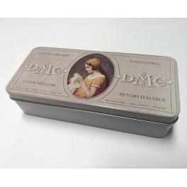 BOX1 Krabička na mulinku DMC béžová