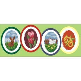 Velikonoční dekorace - Předloha