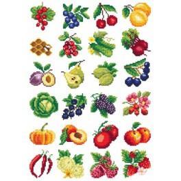 Ovocné šílenství - Předloha