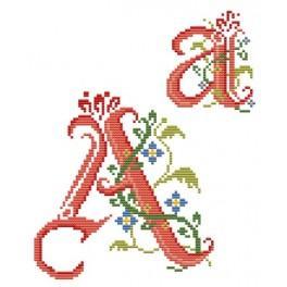 GU 4477-01 Monogram A - B. Sikora-Malyjurek - Předloha