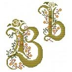 GU 4477-02 Monogram B - B. Sikora-Malyjurek - Předloha