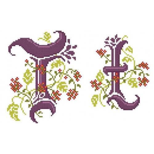 GU 4477-20 Monogram T - B. Sikora-Malyjurek - Předloha
