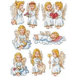 Předloha - Andělíčci