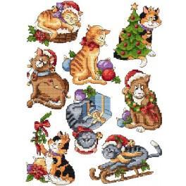 Sváteční koťátka - Předloha