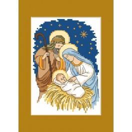 Vánoční přání - Předloha
