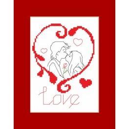 Valentýnské přání - Předloha