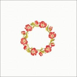 Tulipánový věneček - Předloha