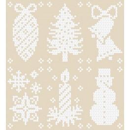 GU 8494 Christmas Designs - Předloha