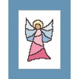 Vitrážní anděl - Předloha