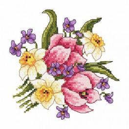 Předloha online - Jarní kytice