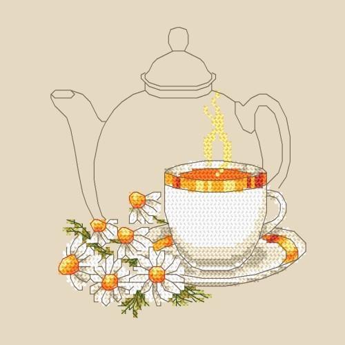 Předloha online - Heřmánkový čaj