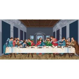 W 727 Předloha online - Poslední večeře - L. da Vinci
