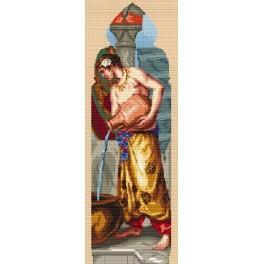 Předloha online - Triptych - Asie - W. Crane