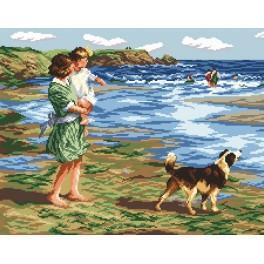 Předloha online - Letní procházka - Edward Potthast