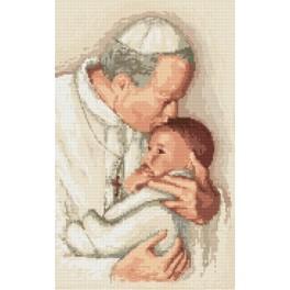 W 8204 Předloha online - Papež Jan Pavel II