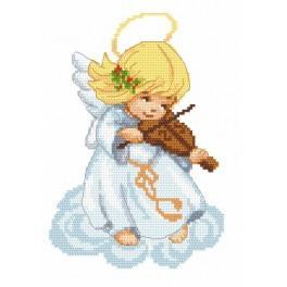 Předloha online - Andílek s housličkami