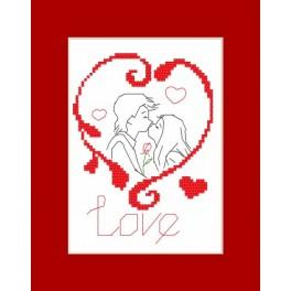 Předloha online - Valentýnské přání