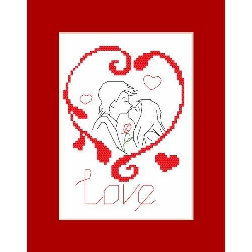 W 8307 Předloha ONLINE pdf - Valentýnské přání