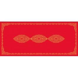 W 8555 Předloha on line - Běhoun s arabeskou