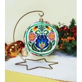 Předloha on line - Vánoční koula - Etnicka