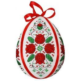 Předloha on line - Kraslice s tulipány