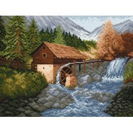 W 870 Předloha online - Vodní mlýn