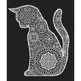 Předloha on line - Krajkové kočka