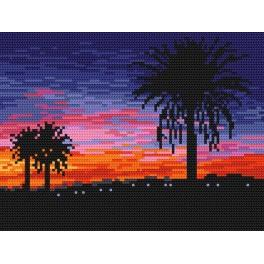 Předloha online - Západ slunce