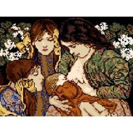 Mateřství - Předtištěná kanava