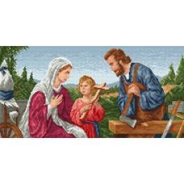 Svatá Rodina - Předtištěná kanava