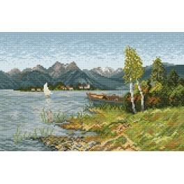 U jezera - Předtištěná kanava