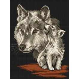 Vlci - Předtištěná kanava