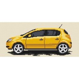4176 Opel Corsa - Předtištěná kanava