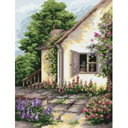 V zátiší zahrady - Předtištěná kanava