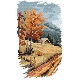 4 roční období - podzim - B. Sikora-Malyjurek - Předtištěná kanava