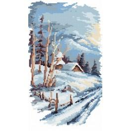4 roční období - zima - B. Sikora-Malyjurek - Předtištěná kanava