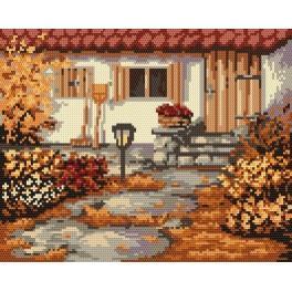 Podzimní zahrádka - Předtištěná kanava