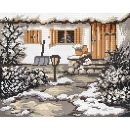 Zimní zahrádka - Předtištěná kanava