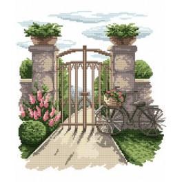 Tajemná zahrada - Předtištěná kanava