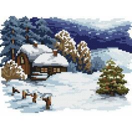 Vánoční večer - B. Sikora-Malyjurek - Předtištěná kanava