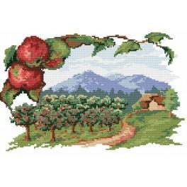 Ovocná zahrada - Předtištěná kanava