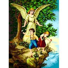 Anděl Strážný nad propastí - Předtištěná kanava