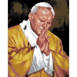 Papež Jan Pavel II - Předtištěná kanava