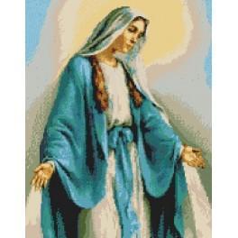 Matka boží zázračného medailónku - Předtištěná kanava