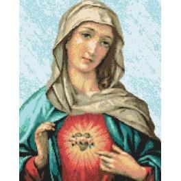 Matka Boží milosrdného srdce - Předtištěná kanava
