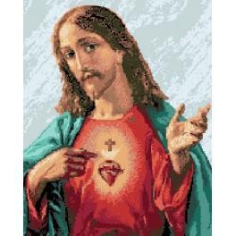 6067 Neposkvrněné srdce Ježíše - Předtištěná kanava
