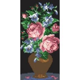 Růže - Předtištěná kanava