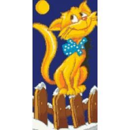 6526 Kočka - Předtištěná kanava
