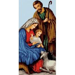 6533 Svatá rodina - Předtištěná kanava