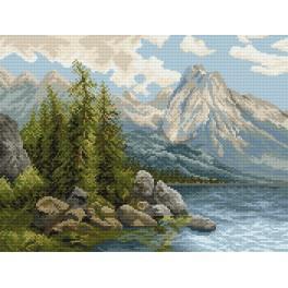Jezero v horách - Předtištěná kanava